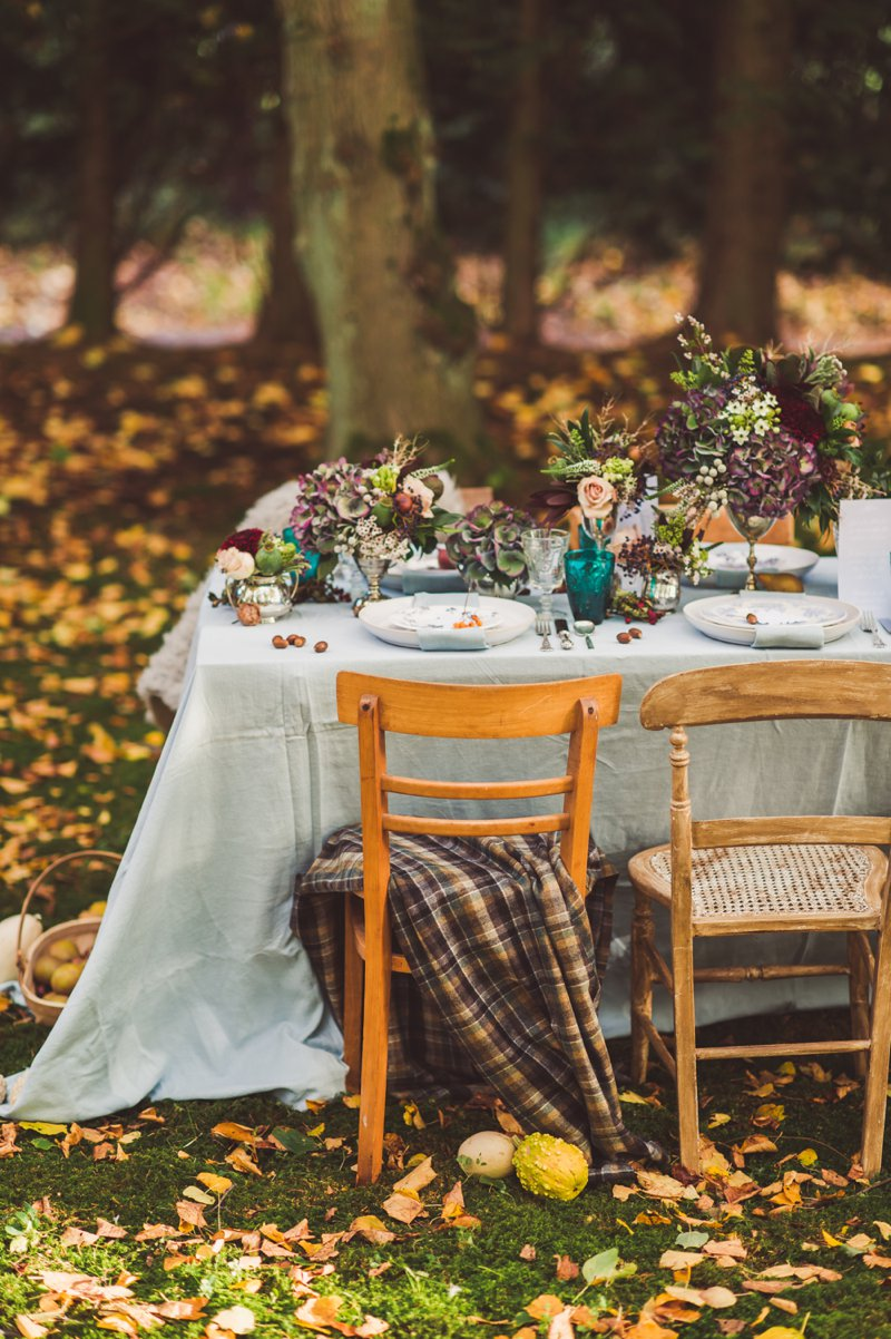 Autumn Fall Inspired Wedding Decor and Fashion Editorial by Rock My Wedding With Florals By Mrs Umbels, Make-up By Claire Salter Photographed By Rebekah J Murray._0026