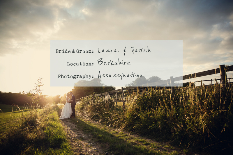 Cover-A-Rustic-Farm-Wedding-In-Berkshire-With-Bride-In-Kelly-By-Stephanie-Allin-And-Bridemaids-In-Mint-Green-With-A-Chocolate-Wedding-Cake-From-M&S-Images-From-Assassynation