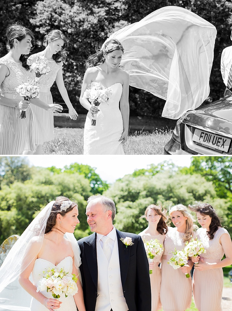 Elegant Wedding At Holkham Hall Norfolk With Bride In Hepburn By Suzanne Neville With Rachel Simpson Bridal Shoes And Nude Bridemaids Dresses From Ted Baker Images From Katherine Ashdown_0008