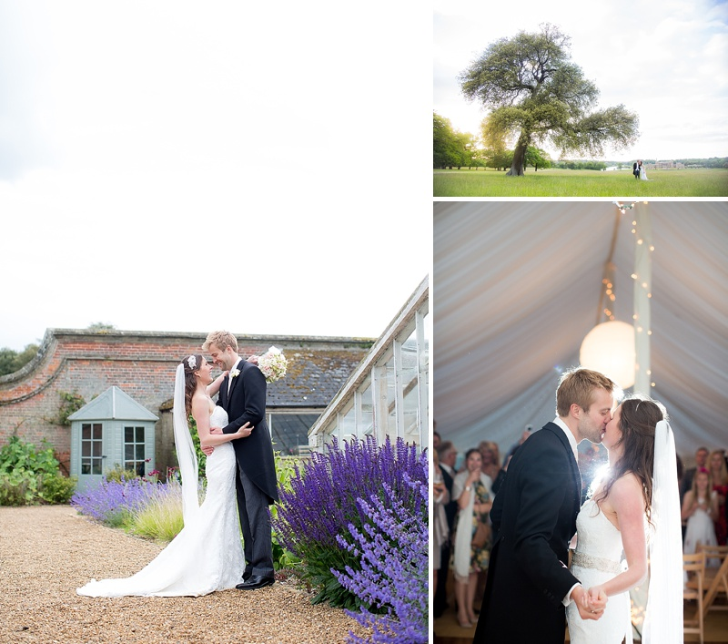 Elegant Wedding At Holkham Hall Norfolk With Bride In Hepburn By Suzanne Neville With Rachel Simpson Bridal Shoes And Nude Bridemaids Dresses From Ted Baker Images From Katherine Ashdown_0016