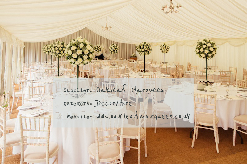 Oakleaf-Marquees