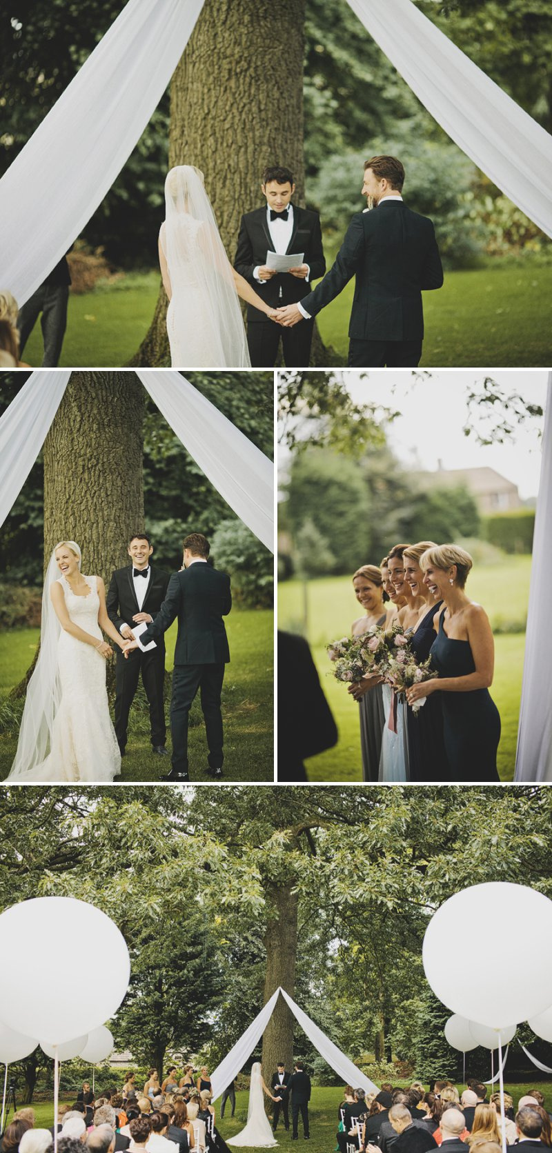 A Black Tie Luxury Wedding In Yorkshire With A Justin Alexander Dress A Bespoke Halo & Co Pale Gold Veil And A Rose And Pink Jasmine Bouquet Photographed By John Day._0006