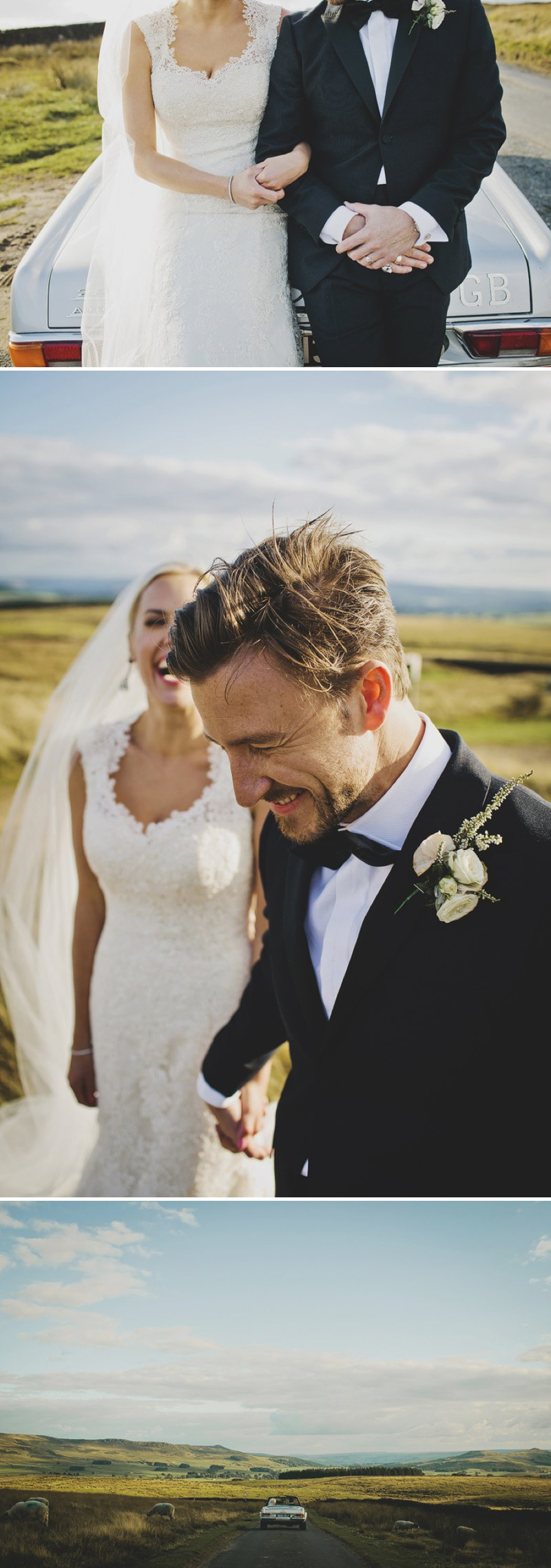 A Black Tie Luxury Wedding In Yorkshire With A Justin Alexander Dress A Bespoke Halo & Co Pale Gold Veil And A Rose And Pink Jasmine Bouquet Photographed By John Day._0013