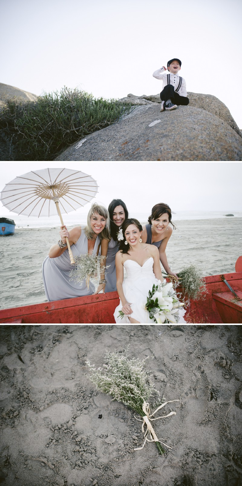 A South African Destination Beach Wedding At Pasternoster Lodge With A Grey Colour Scheme And A Raw Chiffon Bespoke Wedding Dress With A White Lily Bouquet Photographed By Jules Morgan._0010