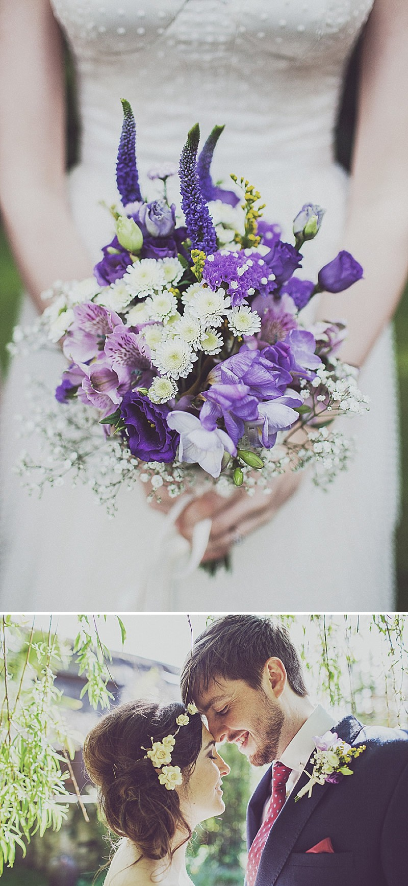 A pink and blue colour scheme Modern wedding at Bedern Hall and The crab and Lobster. Dress by Clinton Lotter, images by Anna Hardy._0012