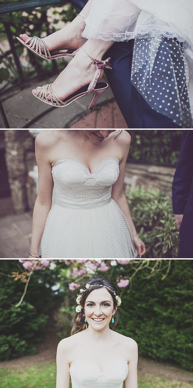 A pink and blue colour scheme Modern wedding at Bedern Hall and The crab and Lobster. Dress by Clinton Lotter, images by Anna Hardy._0015