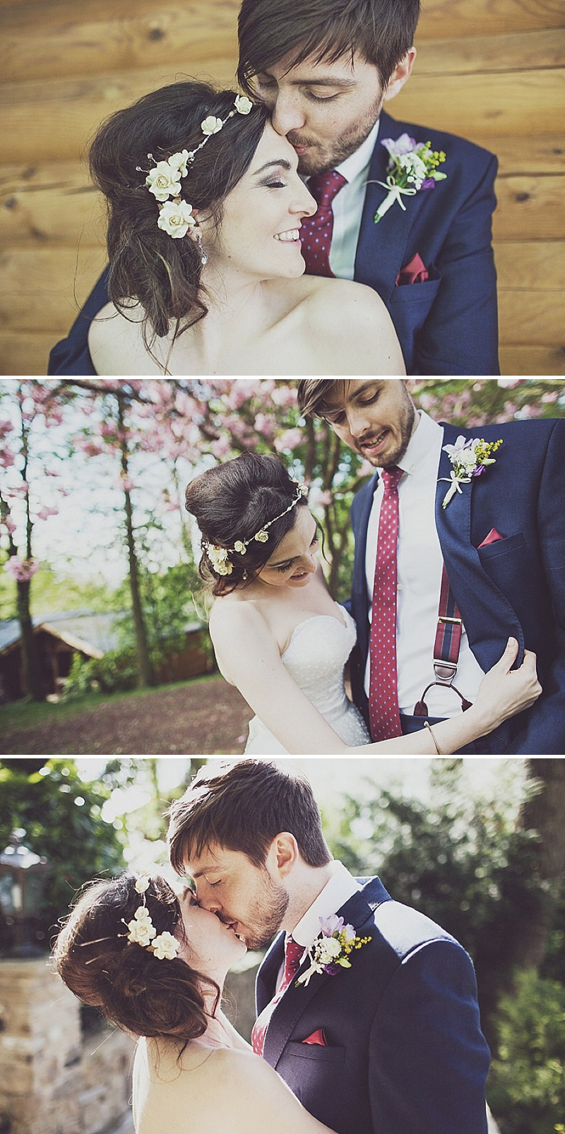 A pink and blue colour scheme Modern wedding at Bedern Hall and The crab and Lobster. Dress by Clinton Lotter, images by Anna Hardy._0020