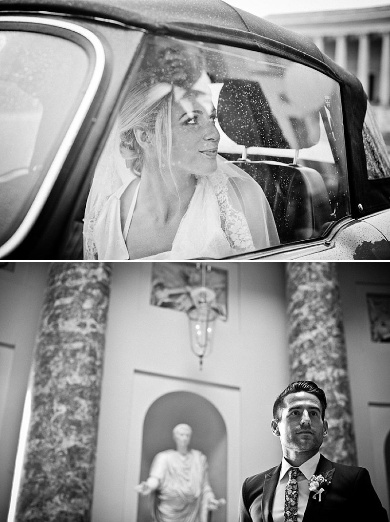 An Elegant Wedding At Stowe House In Buckinghamshire With Bride In Twenties Style Charlie Brear Gown And Groom In Suit By The Kooples Images From Matt Parry Photography_0004