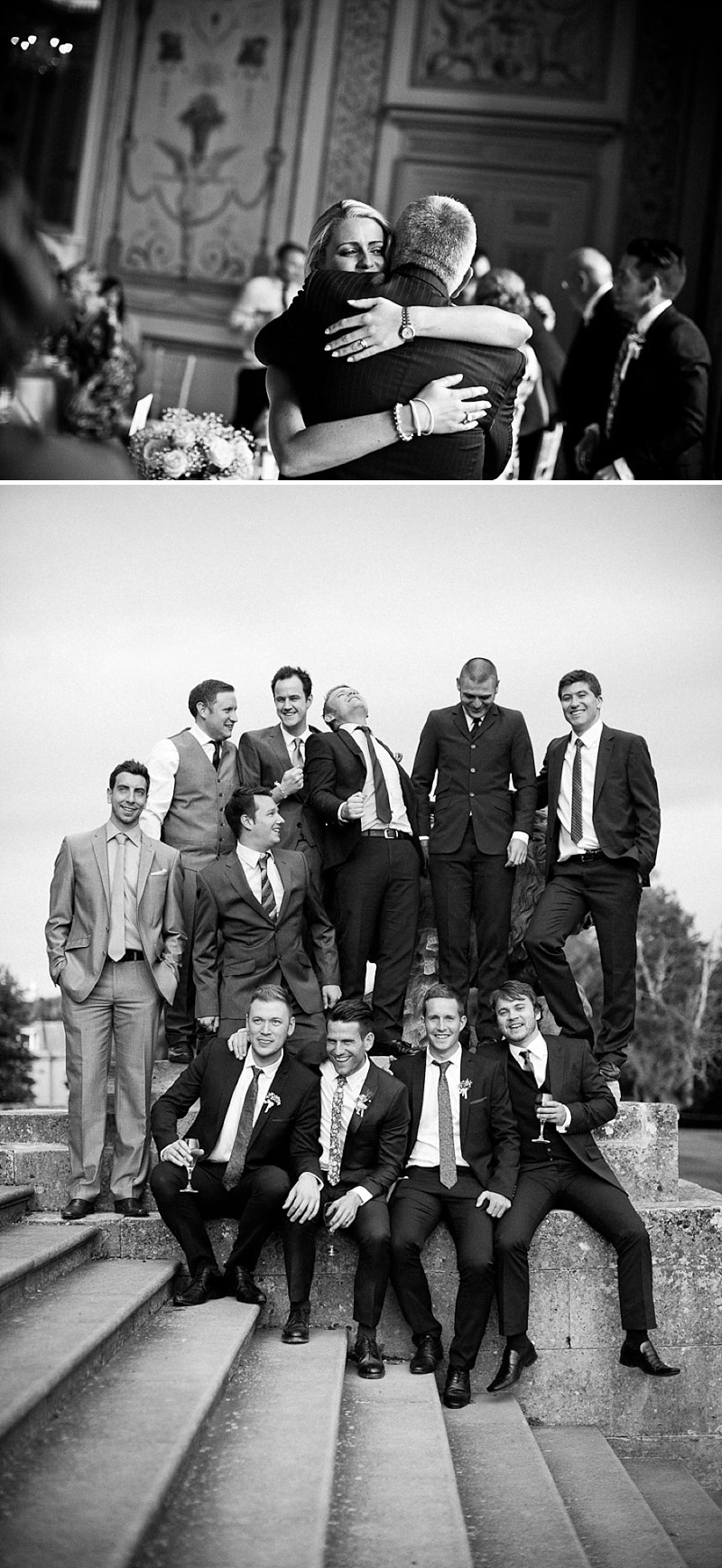 An Elegant Wedding At Stowe House In Buckinghamshire With Bride In Twenties Style Charlie Brear Gown And Groom In Suit By The Kooples Images From Matt Parry Photography_0012