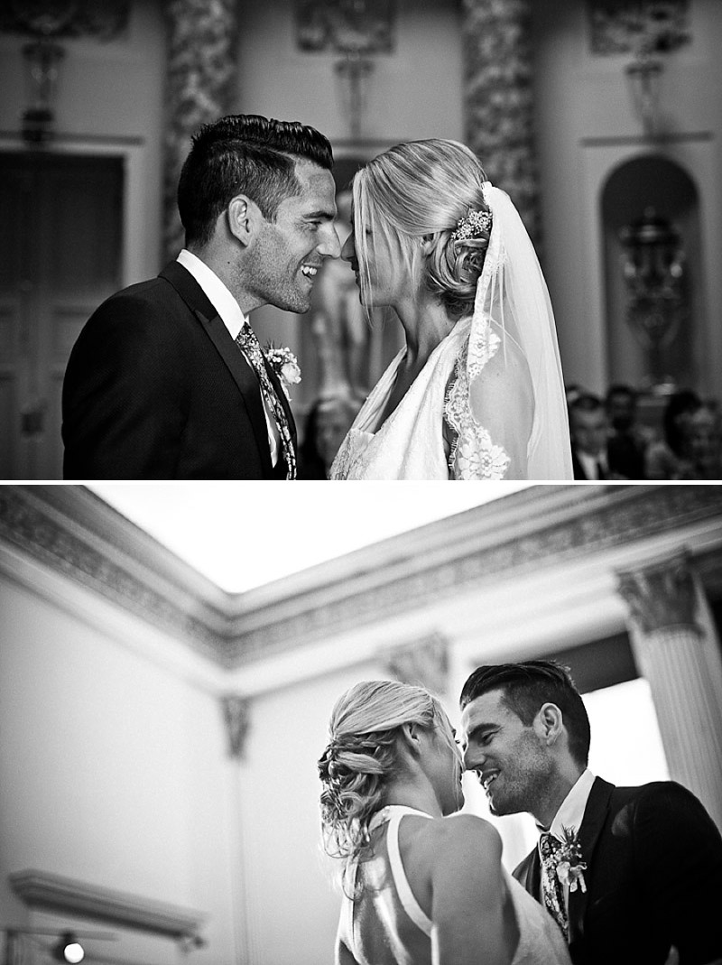 An Elegant Wedding At Stowe House In Buckinghamshire With Bride In Twenties Style Charlie Brear Gown And Groom In Suit By The Kooples Images From Matt Parry Photography_0014