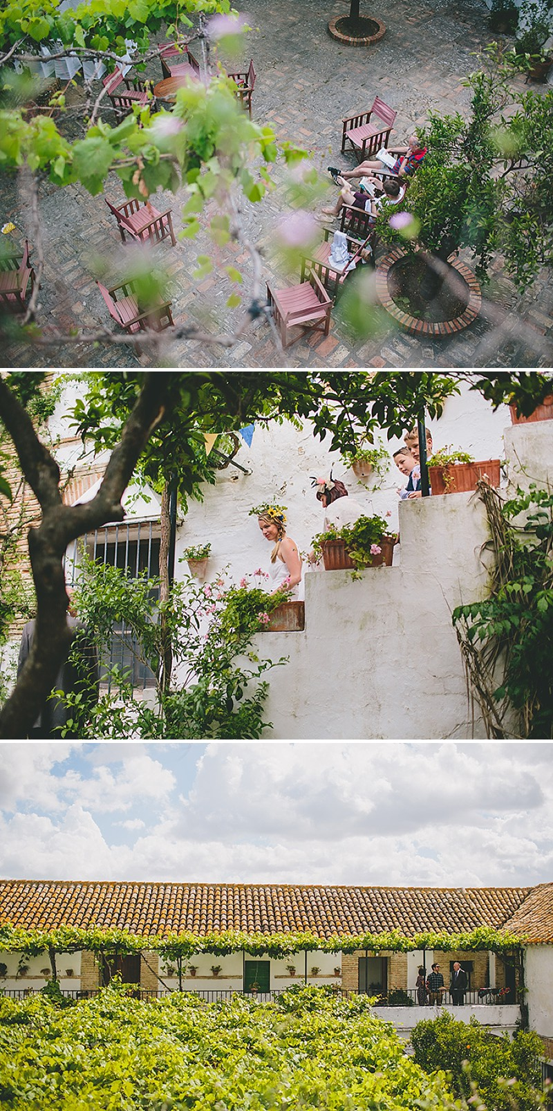 An Intimate Rustic Wedding In Seville Spain With Bride In Temperley Gown And Groom In Navy Reiss Suit With Tan Brogues Images From Zoe Campbell Photography_0004