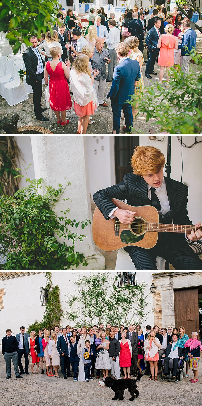 An Intimate Rustic Wedding In Seville Spain With Bride In Temperley Gown And Groom In Navy Reiss Suit With Tan Brogues Images From Zoe Campbell Photography_0009