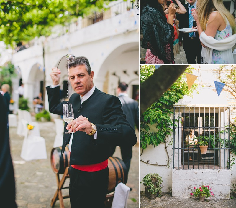 An Intimate Rustic Wedding In Seville Spain With Bride In Temperley Gown And Groom In Navy Reiss Suit With Tan Brogues Images From Zoe Campbell Photography_0012