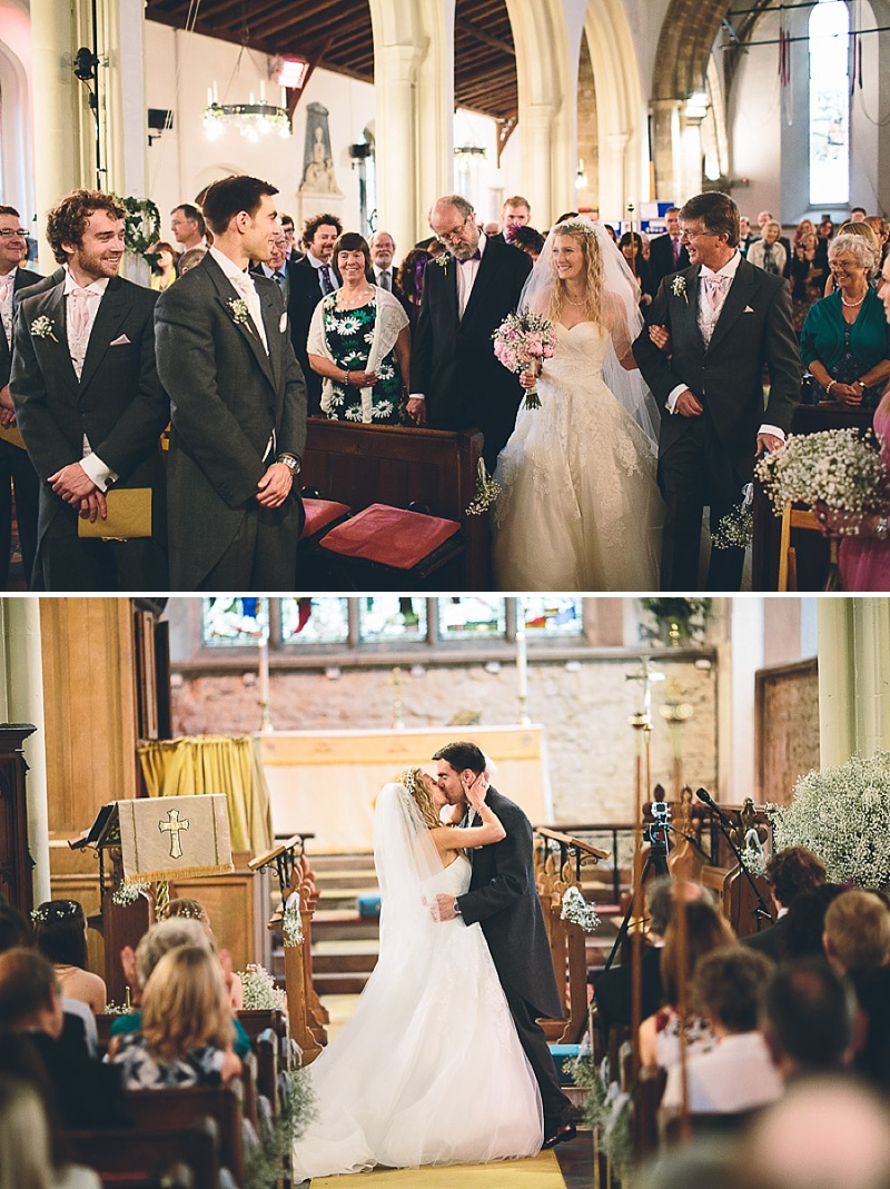 Church Wedding In Cambridge, Reception at Anstey Hall, Bride in Toscana by White One, With Dusky Pink Bridesmaids Gowns And Pink Peony Bouquet, Images by Albert Palmer Photography_0006