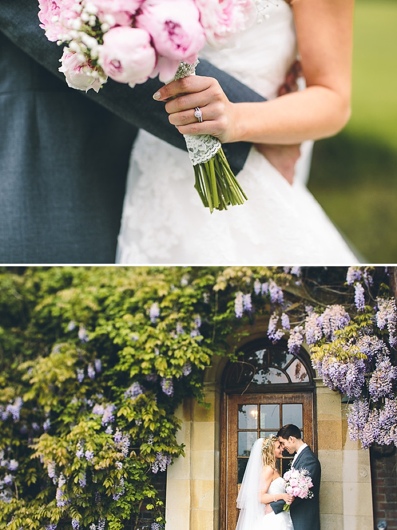 Church Wedding In Cambridge, Reception at Anstey Hall, Bride in Toscana by White One, With Dusky Pink Bridesmaids Gowns And Pink Peony Bouquet, Images by Albert Palmer Photography_0013