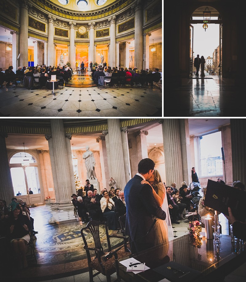 Decadent New Years Eve Wedding In Dublin With Bride In Eden By Jenny Packham And Vamp Sandals By Jimmy Choo And Groom In Navy Reiss Suit With Images From Explore Light Photography_0007
