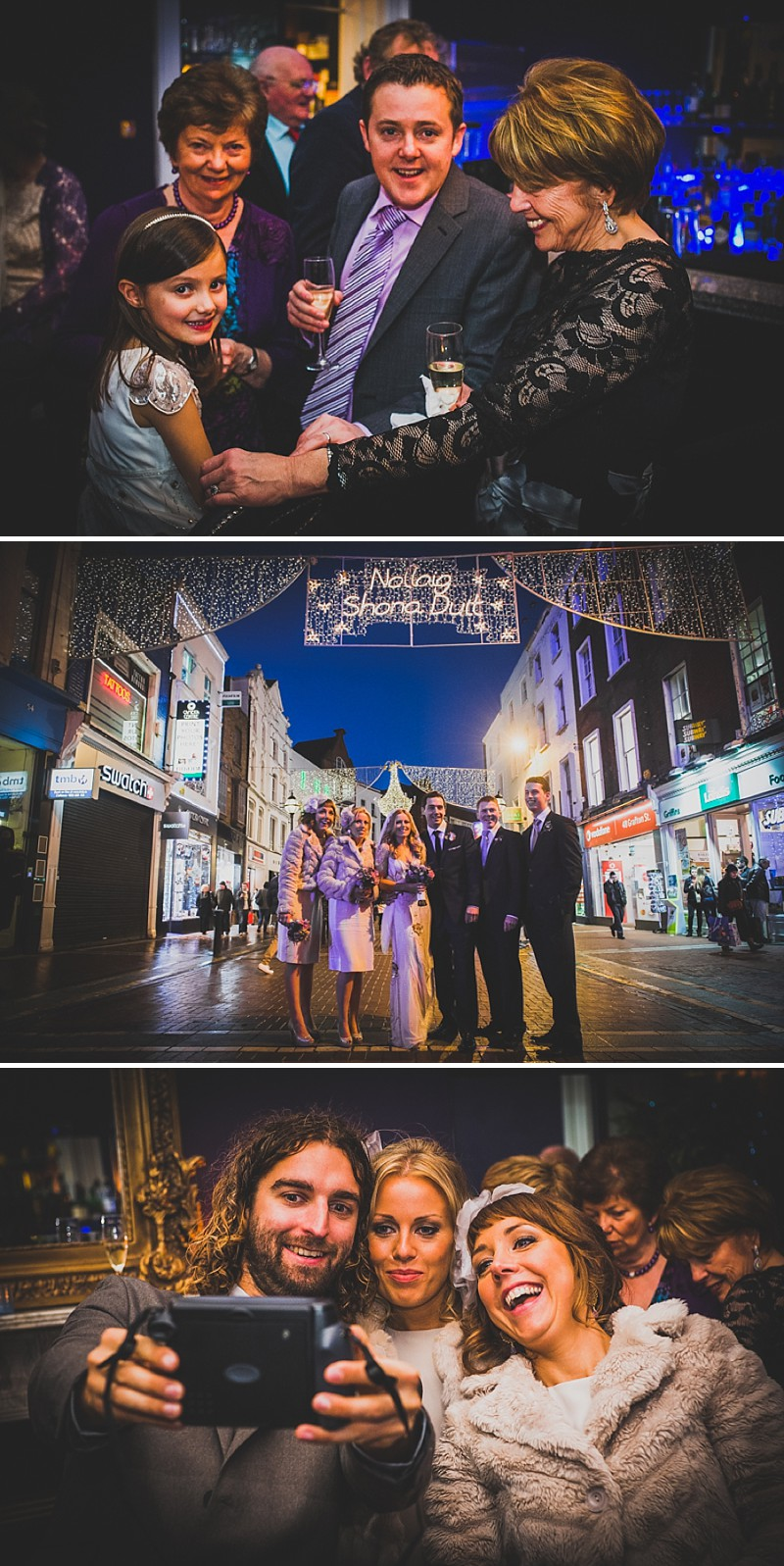 Decadent New Years Eve Wedding In Dublin With Bride In Eden By Jenny Packham And Vamp Sandals By Jimmy Choo And Groom In Navy Reiss Suit With Images From Explore Light Photography_0010