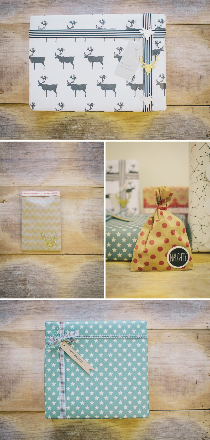Nine Beautiful And Creative Christmas DIY Gift Wrap Ideas With Ribbons, Fun Gift Tags and Gorgeous Wrapping Paper From Etsy Suppliers._0002