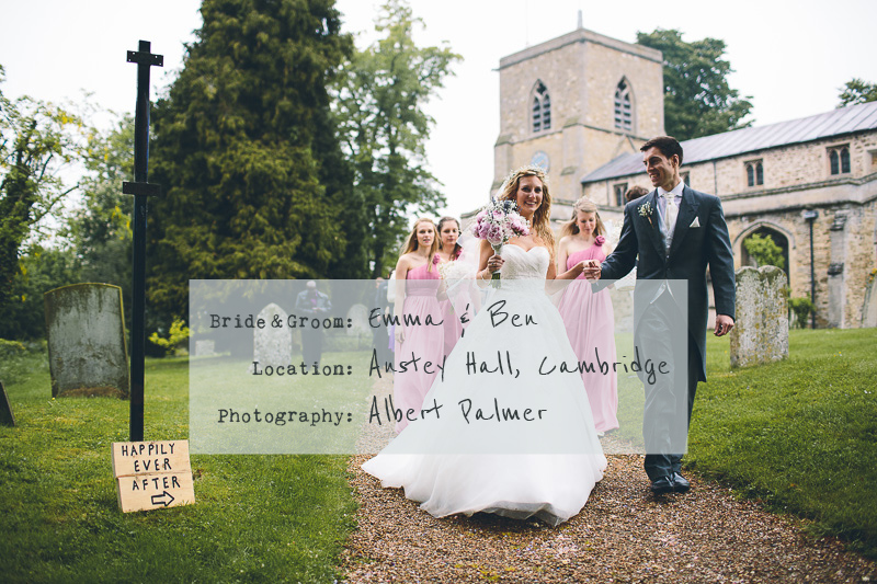 cover-Church-Wedding-In-Cambridge,-Reception-at-Anstey-Hall,-Bride-in-Toscana-by-White-One,-With-Dusky-Pink-Bridesmaids-Gowns-And-Pink-Peony-Bouquet,-Images-by-Albert-Palmer-Photography