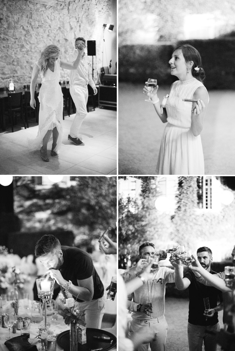 A Beautiful Destination Wedding at Chateau du Puits es Pratx in France With A Handmade Bohemian Wedding Dress And White Colour Scheme By M&J Photography._0009
