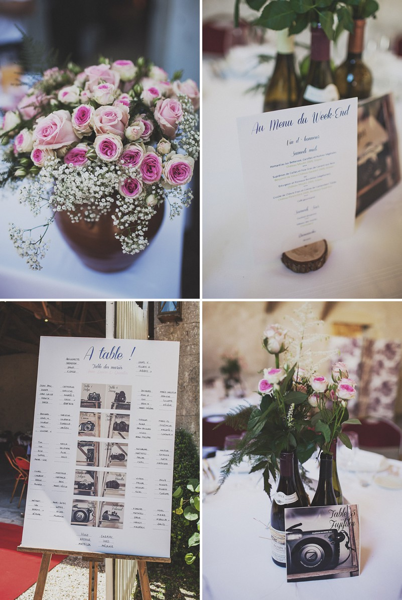 A Beautiful Rustic French Destination Wedding At Rivière de Prats In Gironde With A Rosa Clara Wedding Dress And A Pink Rose Bouquet And An Oyster And Cocktail Buffet By Anna Hardy Photography._0007