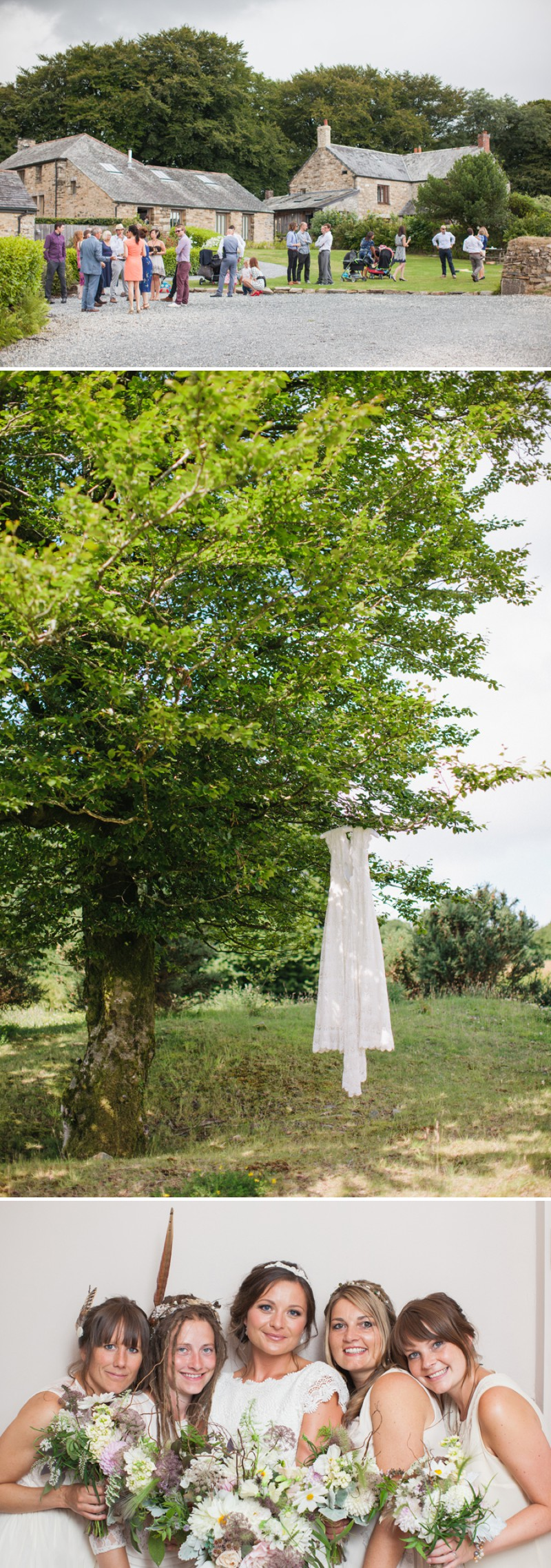 A Beautiful Rustic Peter Pan Themed Wedding With A Daughters Of Simone Wedding Dress At Trevenna Barns in Cornwall With Photography By Hayley Savage._0001