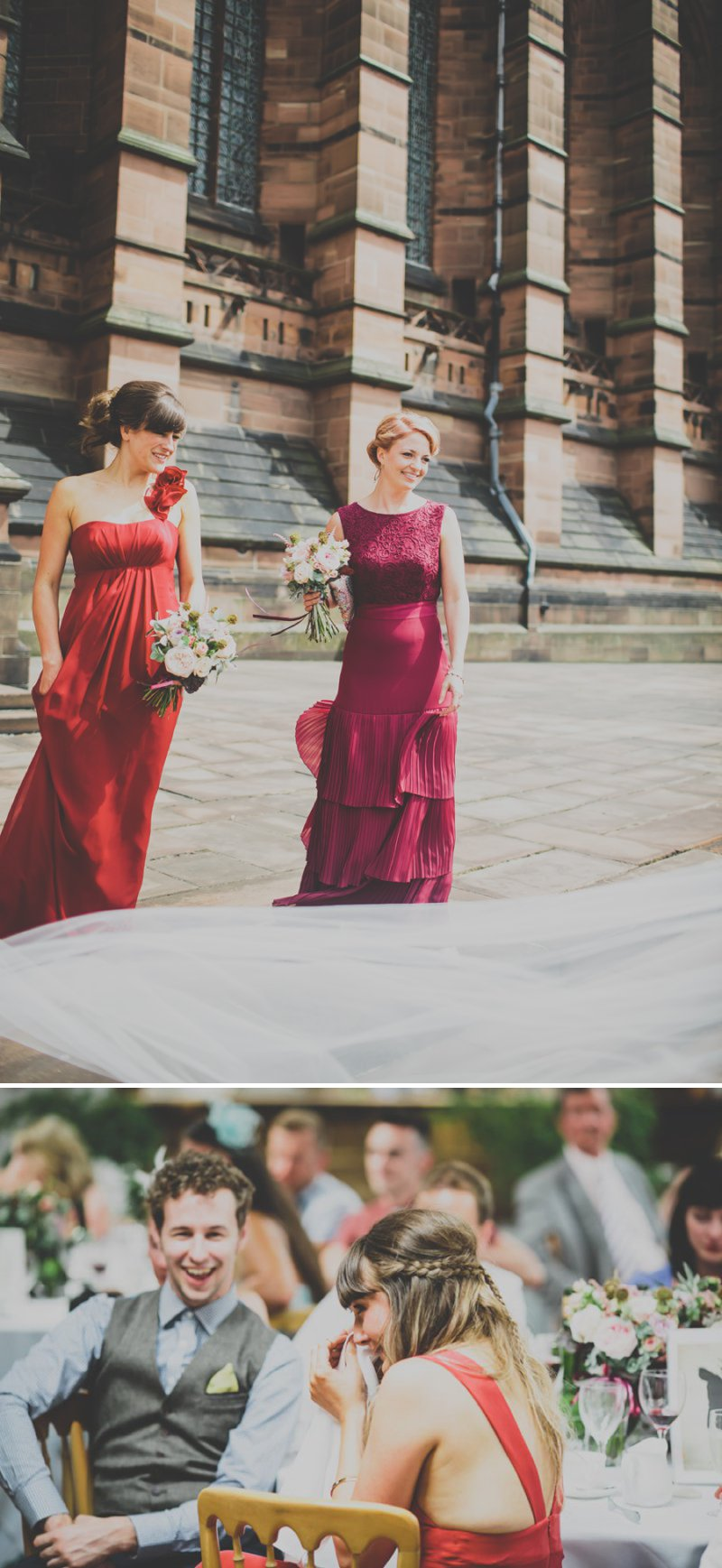 A Bohemian Wedding At Liverpool Cathedral And Owen House Farm Cheshire With Bride In Vintage Family Heirloom Gown Redesigned By Agape Bridal Boutique 3