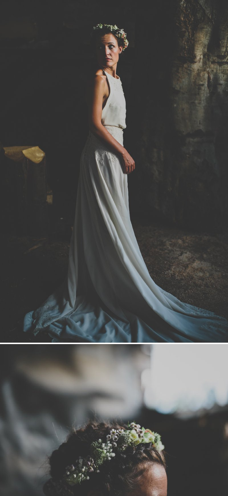 A Bohemian Wedding At Liverpool Cathedral And Owen House Farm Cheshire With Bride In Vintage Family Heirloom Gown Redesigned By Agape Bridal Boutique 6