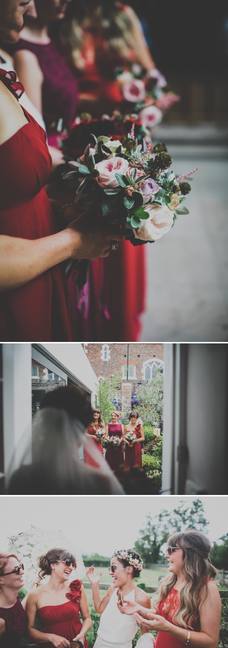 A Bohemian Wedding At Liverpool Cathedral And Owen House Farm Cheshire With Bride In Vintage Family Heirloom Gown Redesigned By Agape Bridal Boutique 7