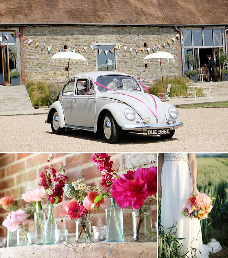A Festival Inspired Wedding At Grittenham Barn In West