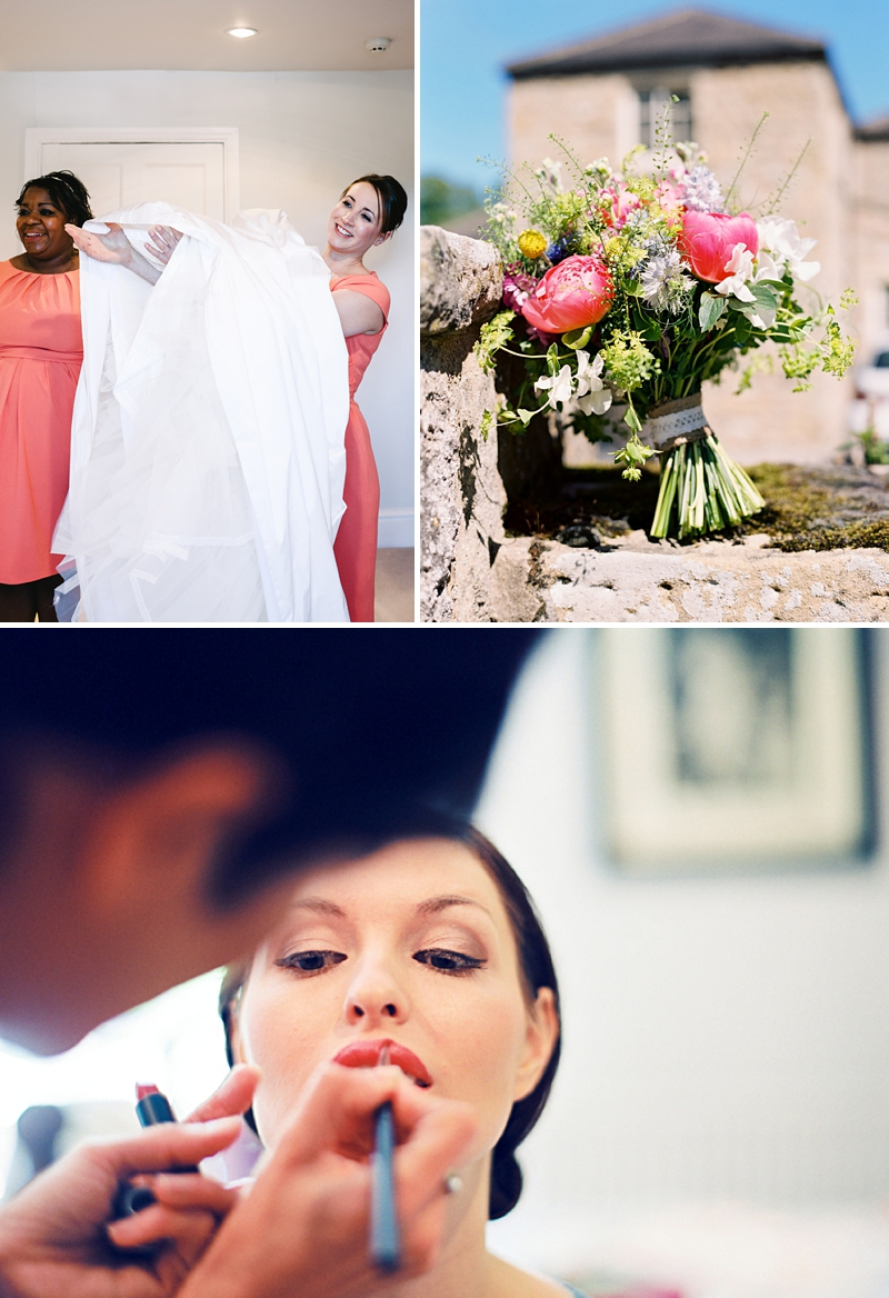 A Traditional English country wedding at Jervaulx Abbey with Stephanie Allin dress and images by Ann-Kathrin Koch_0002