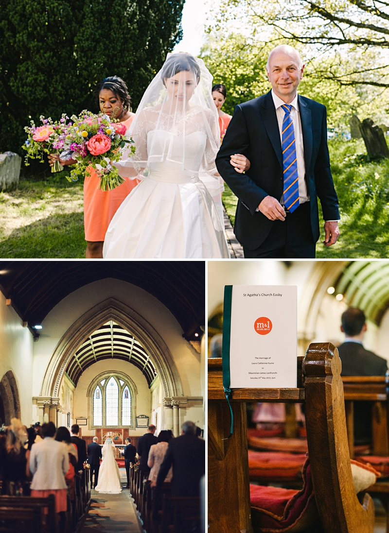 A Traditional English country wedding at Jervaulx Abbey with Stephanie Allin dress and images by Ann-Kathrin Koch_0004