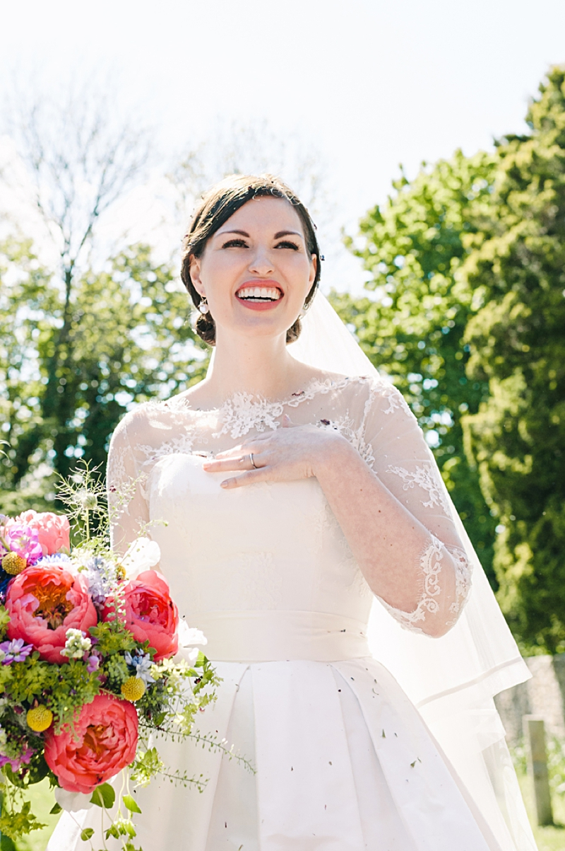 A Traditional English country wedding at Jervaulx Abbey with Stephanie Allin dress and images by Ann-Kathrin Koch_0005