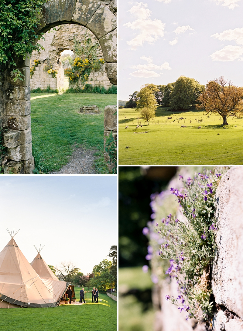 A Traditional English country wedding at Jervaulx Abbey with Stephanie Allin dress and images by Ann-Kathrin Koch_0006