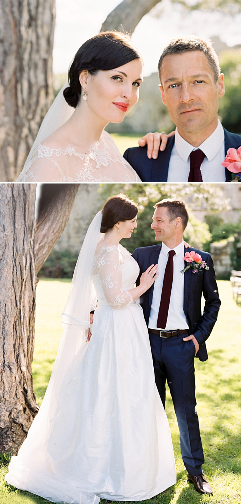 A Traditional English country wedding at Jervaulx Abbey with Stephanie Allin dress and images by Ann-Kathrin Koch_0007