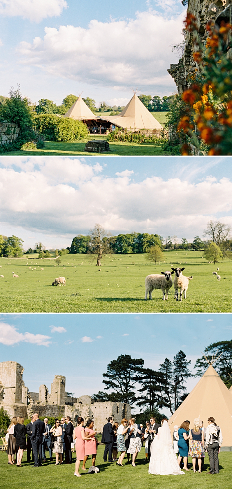 A Traditional English country wedding at Jervaulx Abbey with Stephanie Allin dress and images by Ann-Kathrin Koch_0008