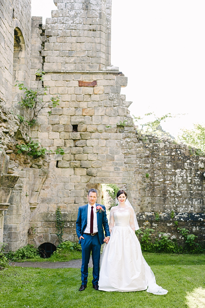 A Traditional English country wedding at Jervaulx Abbey with Stephanie Allin dress and images by Ann-Kathrin Koch_0010