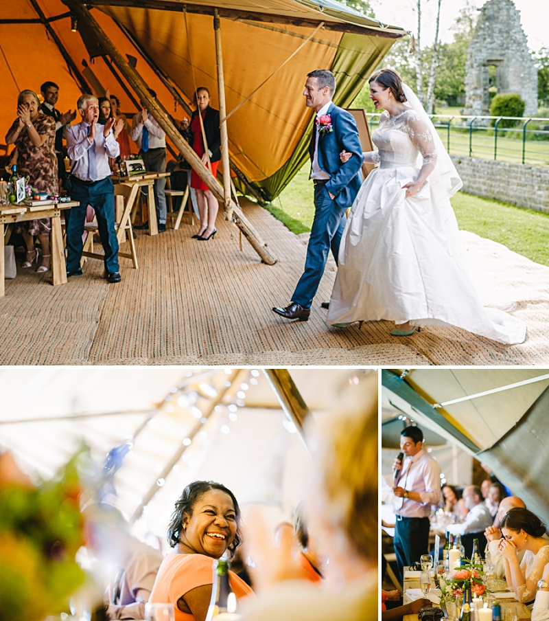 A Traditional English country wedding at Jervaulx Abbey with Stephanie Allin dress and images by Ann-Kathrin Koch_0011