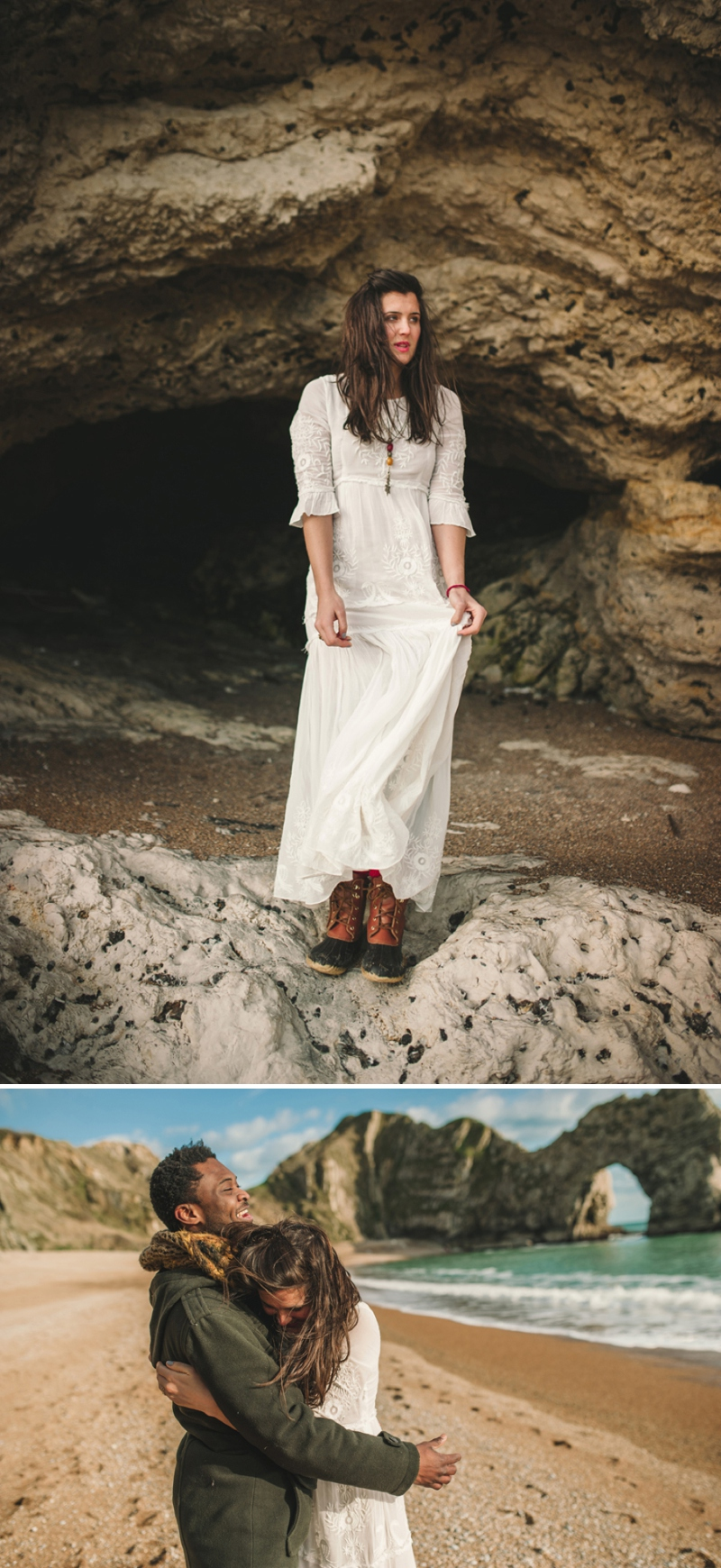A coastal engagement shoot by Rebekah Murray_0556