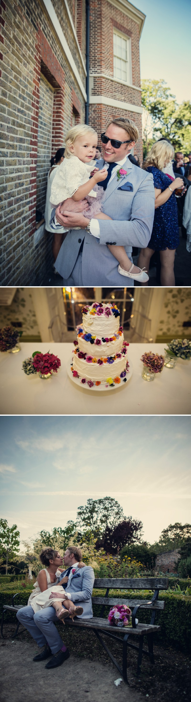 An Intimate And Contemporary Wedding At Valentines Mansion With A Vintage Chanel Wedding Dress And A Cool Water And Dahlia Bouquet By Assassynation Photography 7