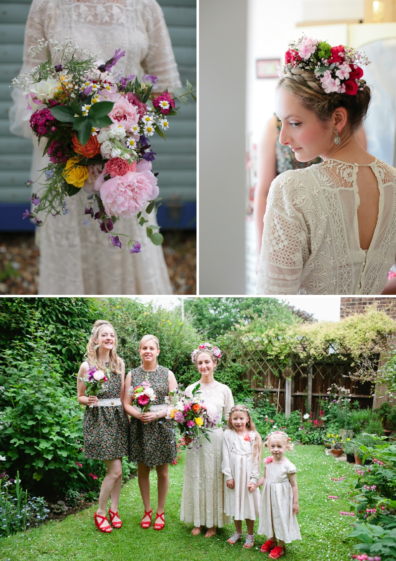 Bohemian Bride for an edwardian mexican themed wedding at The Lobster shack in Whitstable_0563