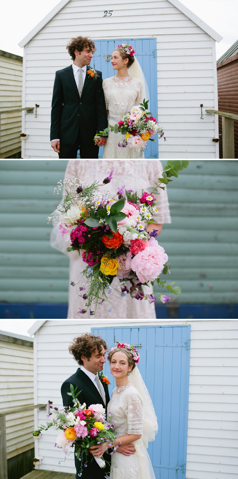 Bohemian Bride for an edwardian mexican themed wedding at The Lobster shack in Whitstable_0566