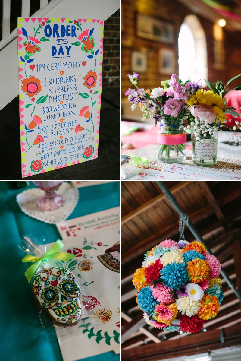 Bohemian Bride for an edwardian mexican themed wedding at The Lobster shack in Whitstable_0569