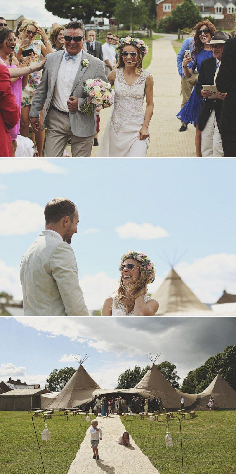 Elegant Papakata Teepee Wedding In Yorkshire 3