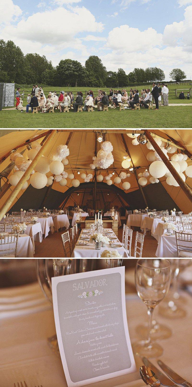 Elegant Papakata Teepee Wedding In Yorkshire 6