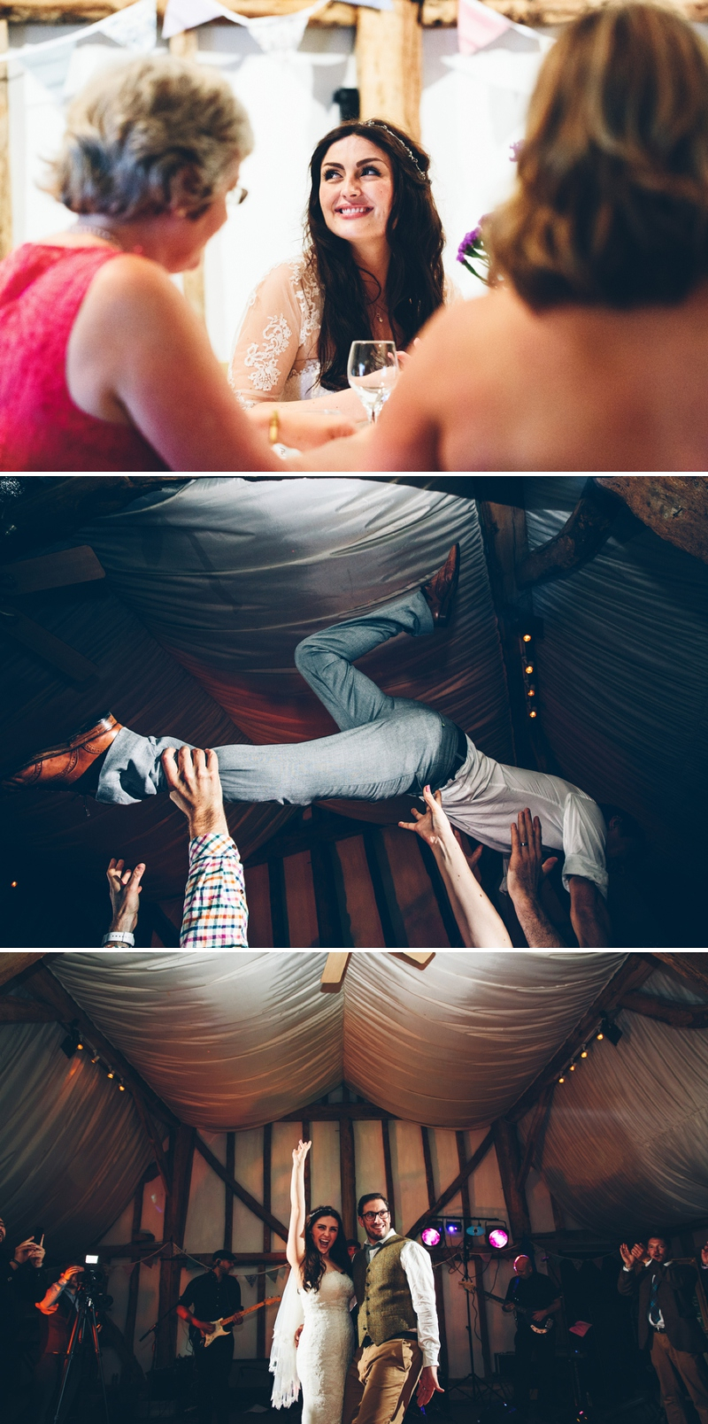 Festival fete style wedding at South farm with Urda gown by Pronovias by Mister Phill Photography_0555