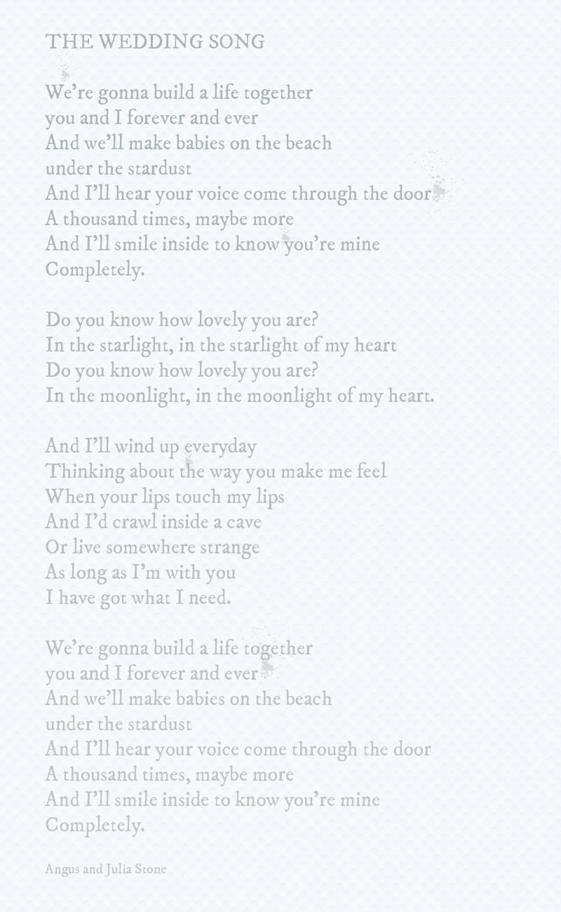 The-wedding-song