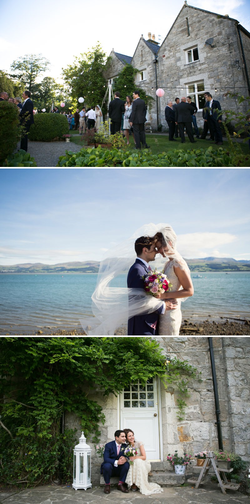 A Fusion Welsh Greek Cypriot Wedding With A Claire Pettibone Dress And A Colour Pop Bouquet By Lily & Frank Photography._0005