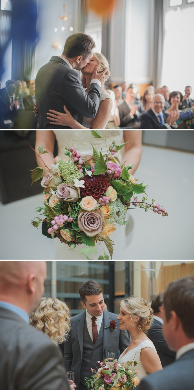 A Modern And Elegant London Wedding At Andaz Hotel With A Handpicked Bouquet And A Lusan Mandongus Dress By O&C Photography_0004