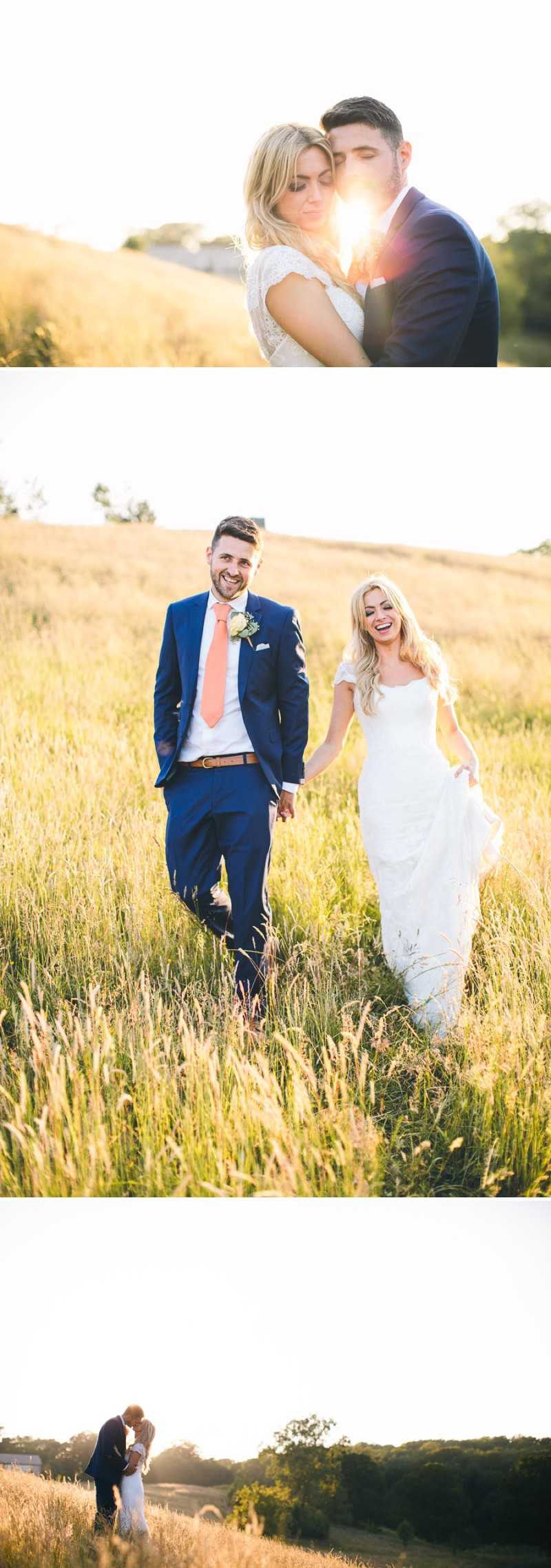 A Modern And Romantic Wedding On The Yorkshire Dales With A Suzanne Neville Lucia Wedding Dress And A Peony Bouquet By Albert Palmer Photography._0019